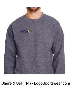 Gildan Adult Heavy Blend Fleece Crew Design Zoom