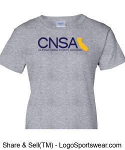 Ladies CNSA Shirt Design Zoom